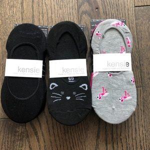 Kensie No Show socks (3 packs)